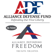 Alliance Defense Fund Becomes Alliance Defending Freedom