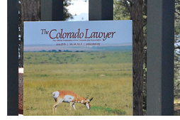 The Colorado Lawyer