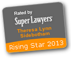 Rising Star award for Theresa Sidebotham