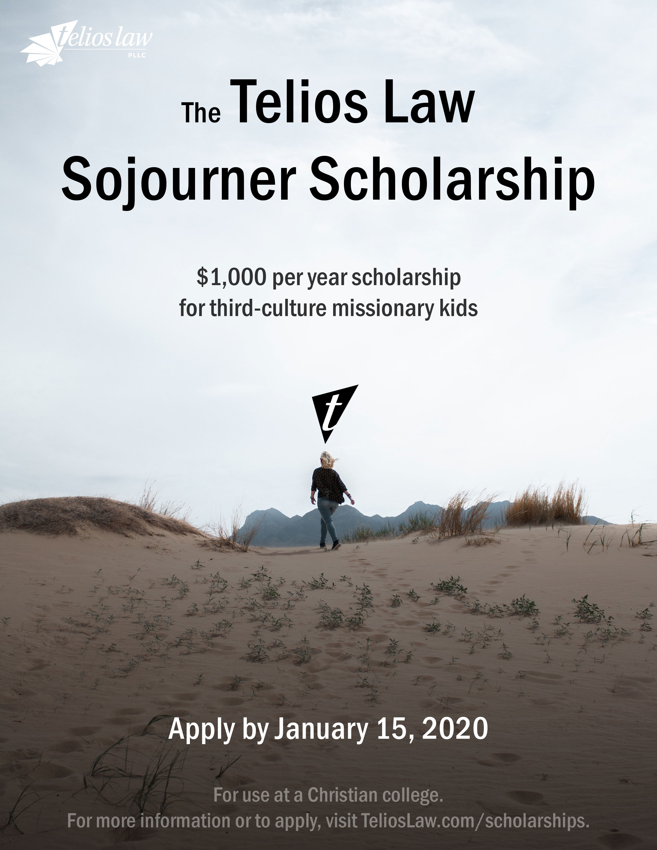 scholarship poster